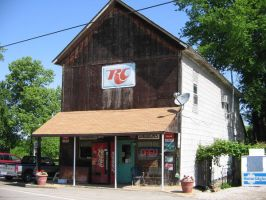 COUNTRY STORE IN UNION INDIANA by uncledave