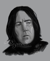 Snape Sketch by ReginesArtwork