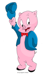 Porky Pig by Duchess-of-Dismal