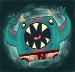 Underpants Monster by Izaart