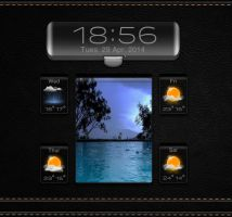 Boss Weather 3 for xwidget by jimking