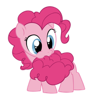 Filly Pinkie Pie Likes Cotton Candy Tails by meof