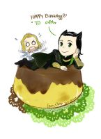 Pudding Loki by amoykid