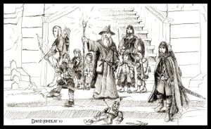 Speed-ink: The Fellowship by EthalenSkye