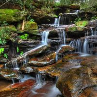 Somersby Water Falls HDR by HarryZero