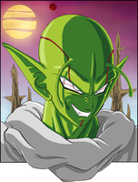 Piccolo Bebi colour by NovaSayajinGoku