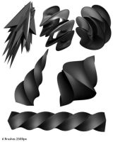 3DAbstract Brushes by StarwaltDesign