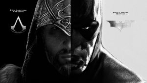 Ezio Batman Wallpaper by Cocomonkey18