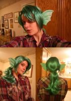 Juri Wig and Ears Commission by Hopie-chan