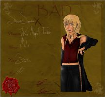 Shahzad Superbia - BAD by xmoonxcrescentx