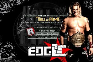 "Edge ""Rated R HOF"" Wallpaper by MattQuest"