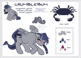 Grumblebum ref by MohawkMax