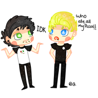 Muke pizza by 5SecondsOfArt