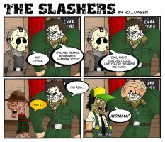 The Slashers 9 by crashdummie