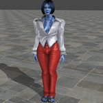 Cortana Reprogrammed: Clothes Modelling by VG-MC
