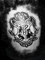 Hogwarts Tattoo in progress.. by Sartanico