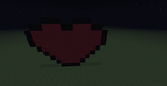 Second attempt of a bigger heart by MyLoveForYouEternity