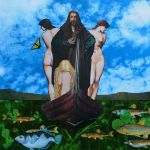 The Ichthyologist and His Three Lovely Daughters by opiumtraum