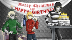 Merry Christmas and Happy Birthday, LJ! by ShadowsNeko