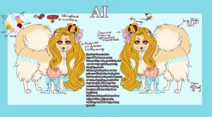 Ai reference sheet. by SodaButtles