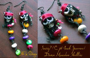 Savvy? Jack Sparrow DM Skellies (avail4ordr) by ArtLoDesigns