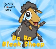 Ba BA black sheep by godfathersky