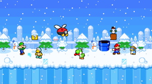 MLSS World 3 Snow Picture. by PxlCobit