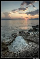 Makarska - Sunset 2 by Klek