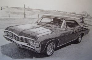 67 Impala by professorwagstaff