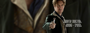 Eighth Doctor Facebook cover by Leda74