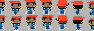 Pixel Numbuh 5 by CarrionTrooper