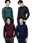 Chanyeol, Kai, Sehun and Suho PNG Pack {SPAO} by kamjong-kai