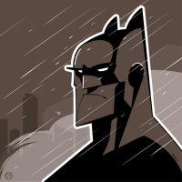 Batman Vector by funky23