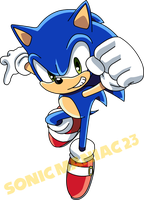 Sonic Colors Sonic X Style by SonicManiac23