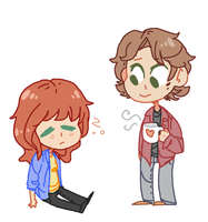 charlie n sam by BlueMagnet