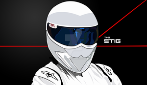 School Related: Vectored Stig by SaberCookie2410