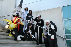 D.Gray-man Group shoot by Mascara-TaintedTears