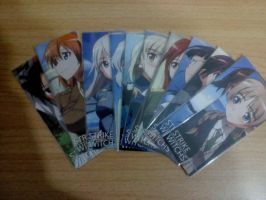 Strike Witches bookmarks by a0001521