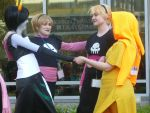 AB '12 Homestuck Meet- Kanaya and Rose Love Square by ChasingCarsWithYou