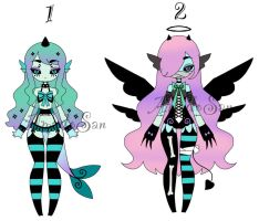 monster girls adoptables Closed by AS-Adoptables