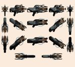Mass Effect 2, M-622 Avalanche Reference. by Troodon80