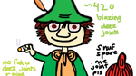 Snufkin (Moomins Tribute) by PainisCupcaek