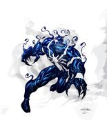Venom - Dan Kemp color by SpiderGuile