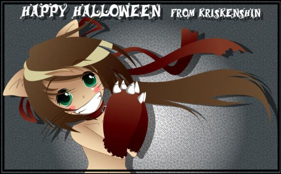 OC: Happy Halloween 2008 by KrisKenshin