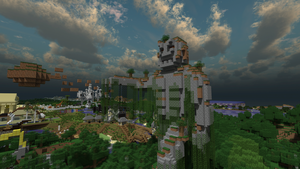 Photorealistic Minecraft IV by Zelzahim