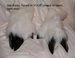 Custom hoof hands SOLD! by Bladespark