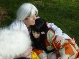 Sesshomaru and Rin 5 by Druhzin