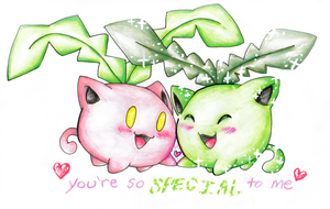 You're Special To Me by Eevie-chu