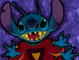 Stitch: Art Trade by LeeRoberts