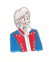 Cartoony Valjean by MdeLucena